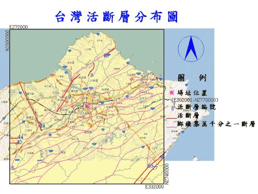 台灣活斷層